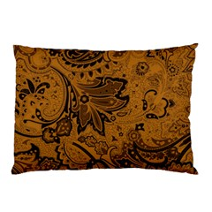 Art Traditional Batik Flower Pattern Pillow Case