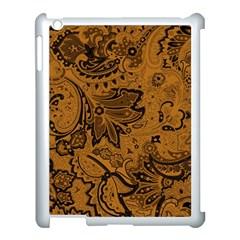 Art Traditional Batik Flower Pattern Apple Ipad 3/4 Case (white)