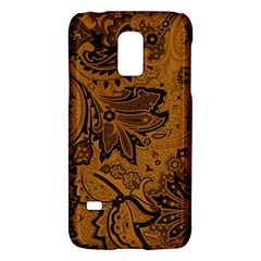 Art Traditional Batik Flower Pattern Galaxy S5 Mini