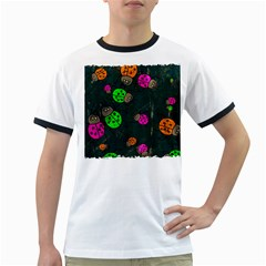 Abstract Bug Insect Pattern Ringer T Shirts