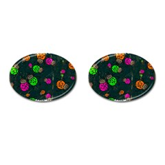 Abstract Bug Insect Pattern Cufflinks (oval)