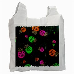 Abstract Bug Insect Pattern Recycle Bag (two Side)