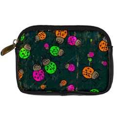 Abstract Bug Insect Pattern Digital Camera Cases