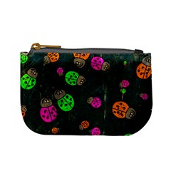 Abstract Bug Insect Pattern Mini Coin Purses