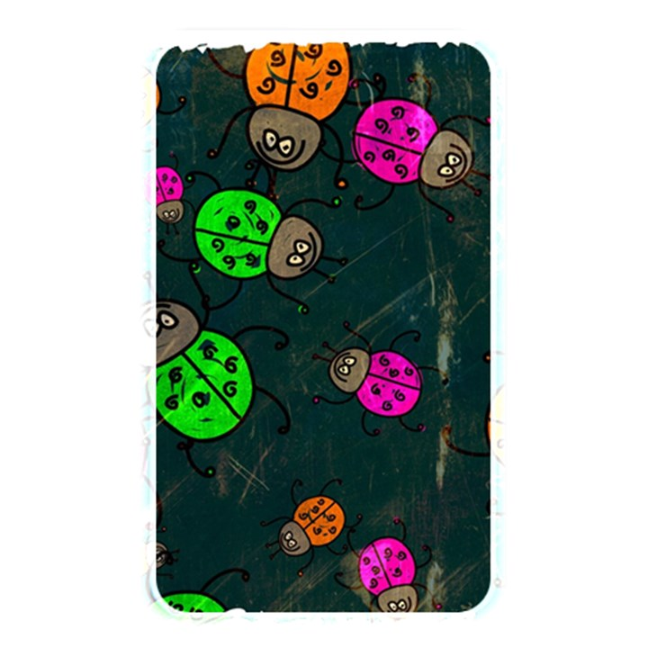 Abstract Bug Insect Pattern Memory Card Reader