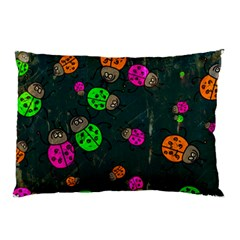 Abstract Bug Insect Pattern Pillow Case (two Sides)