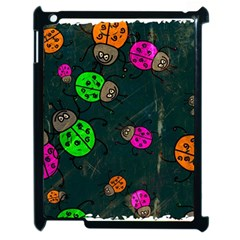 Abstract Bug Insect Pattern Apple Ipad 2 Case (black)