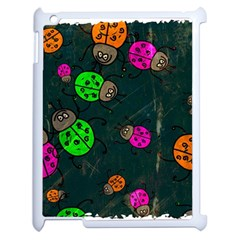 Abstract Bug Insect Pattern Apple Ipad 2 Case (white)
