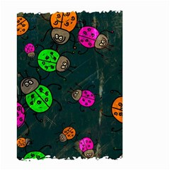 Abstract Bug Insect Pattern Small Garden Flag (two Sides)