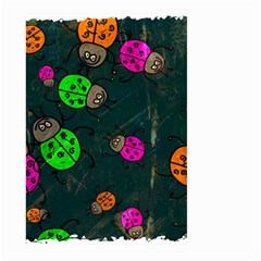 Abstract Bug Insect Pattern Large Garden Flag (two Sides)