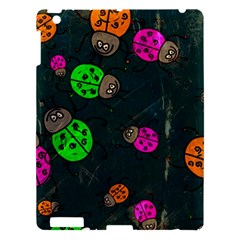 Abstract Bug Insect Pattern Apple Ipad 3/4 Hardshell Case