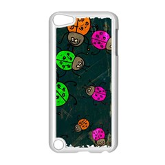Abstract Bug Insect Pattern Apple Ipod Touch 5 Case (white)