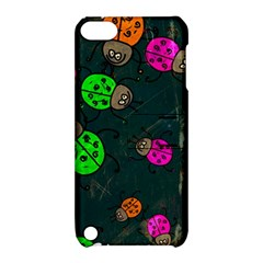 Abstract Bug Insect Pattern Apple Ipod Touch 5 Hardshell Case With Stand