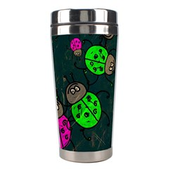 Abstract Bug Insect Pattern Stainless Steel Travel Tumblers