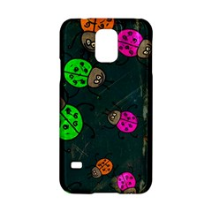 Abstract Bug Insect Pattern Samsung Galaxy S5 Hardshell Case