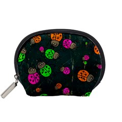 Abstract Bug Insect Pattern Accessory Pouches (small)