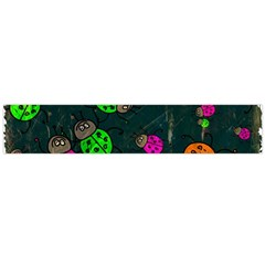 Abstract Bug Insect Pattern Flano Scarf (large)
