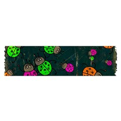 Abstract Bug Insect Pattern Satin Scarf (oblong)