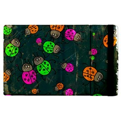 Abstract Bug Insect Pattern Apple Ipad Pro 12 9   Flip Case