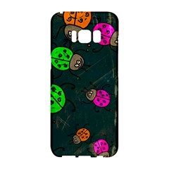 Abstract Bug Insect Pattern Samsung Galaxy S8 Hardshell Case