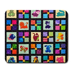 Animal Party Pattern Large Mousepads