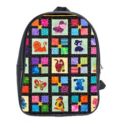 Animal Party Pattern School Bags(large)