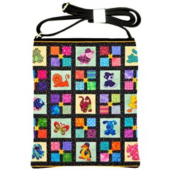 Animal Party Pattern Shoulder Sling Bags