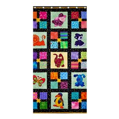 Animal Party Pattern Shower Curtain 36  X 72  (stall)