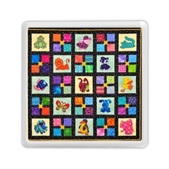 Animal Party Pattern Memory Card Reader (square)