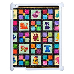 Animal Party Pattern Apple Ipad 2 Case (white)