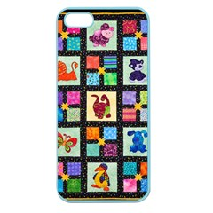 Animal Party Pattern Apple Seamless Iphone 5 Case (color)