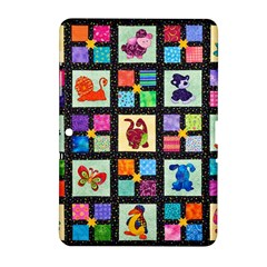 Animal Party Pattern Samsung Galaxy Tab 2 (10 1 ) P5100 Hardshell Case