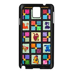 Animal Party Pattern Samsung Galaxy Note 3 N9005 Case (black)