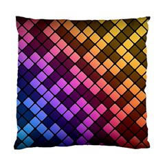 Abstract Small Block Pattern Standard Cushion Case (one Side)