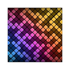 Abstract Small Block Pattern Acrylic Tangram Puzzle (6  X 6 )