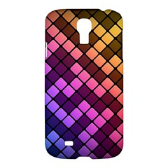 Abstract Small Block Pattern Samsung Galaxy S4 I9500/i9505 Hardshell Case