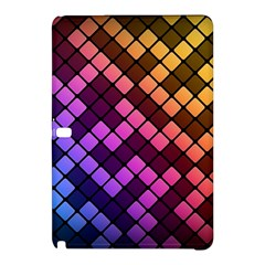 Abstract Small Block Pattern Samsung Galaxy Tab Pro 10 1 Hardshell Case