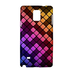 Abstract Small Block Pattern Samsung Galaxy Note 4 Hardshell Case