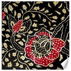 Art Batik Pattern Canvas 12  X 12