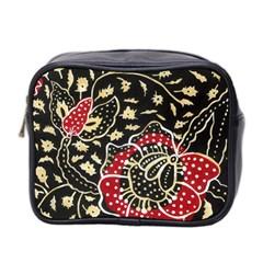 Art Batik Pattern Mini Toiletries Bag 2 Side