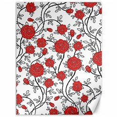 Texture Roses Flowers Canvas 36  X 48