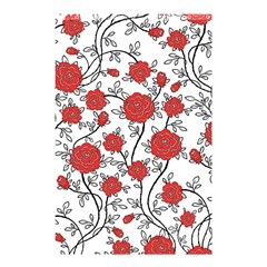 Texture Roses Flowers Shower Curtain 48  X 72  (small)