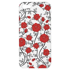 Texture Roses Flowers Apple Iphone 5 Hardshell Case