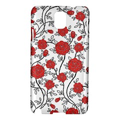 Texture Roses Flowers Samsung Galaxy Note 3 N9005 Hardshell Case
