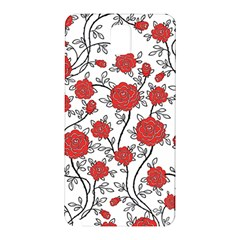 Texture Roses Flowers Samsung Galaxy Note 3 N9005 Hardshell Back Case