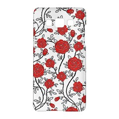 Texture Roses Flowers Samsung Galaxy A5 Hardshell Case