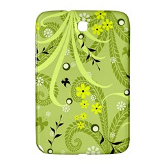 Flowers On A Green Background                      Samsung Galaxy Mega 5 8 I9152 Hardshell Case