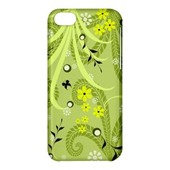 Flowers On A Green Background                      Apple Iphone 5s Hardshell Case