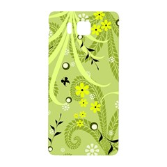 Flowers On A Green Background                      Nil (phone Back Case)