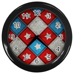 Atar Color Wall Clocks (black)